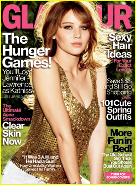 Jennifer Lawrence Covers '