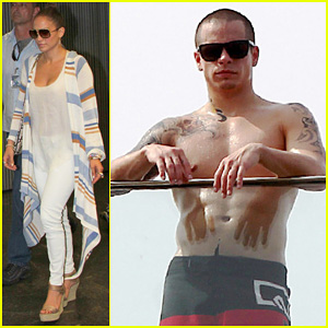 Jennifer Lopez & Casper Smart: Rio Lovers!