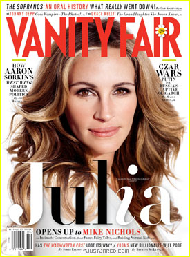 Julia Roberts Covers 'Vanity Fair' April 2012