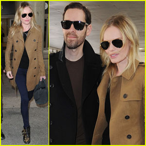 Kate Bosworth & Michael Polish: London to L.A.