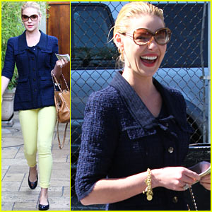 Katherine Heigl: 'It's Satisfying' Working With 'Beautiful Men'!