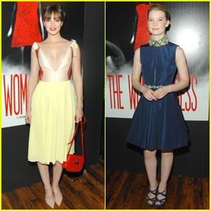 Leighton Meester & Mia Wasikowska: Miu Miu Premiere!