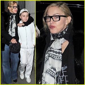 Madonna: Night Out With the Kids!