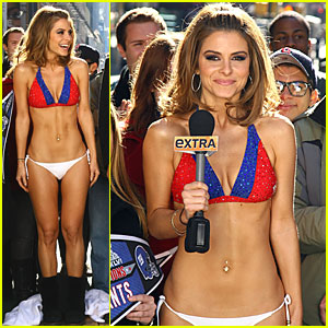 Maria Menounos: Bikini Bet for the Super Bowl!