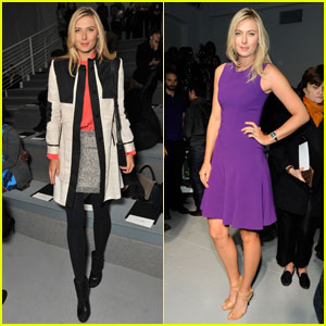 Maria Sharapova: Vera Wang &#038; Rodarte Fashion Shows!