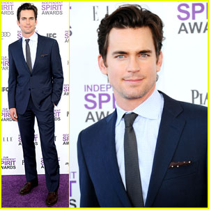 Matt Bomer - Spirit Awards 2012 Red Carpet