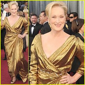 Meryl Streep - Oscars 2012 Red Carpet
