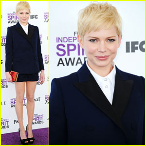 Michelle Williams - Spirit Awards 2012