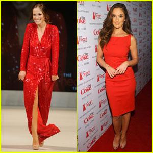 Minka Kelly: Heart Truth's Red Dress Fashion Show!