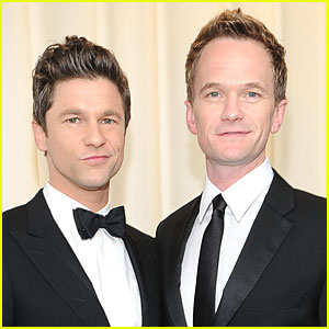 Neil Patrick Harris & David Burtka - Elton John Oscar Party