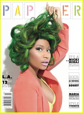 Nicki Minaj Covers 'Paper' Spring Issue