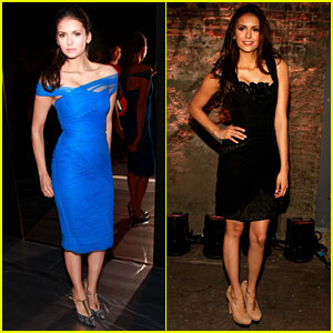 Nina Dobrev: Fashion Week Fierce!
