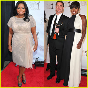 Octavia Spencer & Viola Davis: Writer's Guild Presenters!