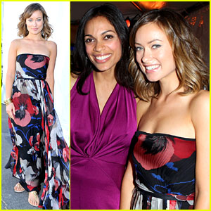 Olivia Wilde &#038; Rosario Dawson - Spirit Awards 2012