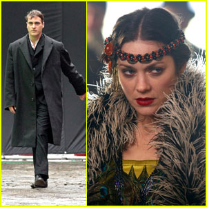 Marion Cotillard &#038; Joaquin Phoenix: Filming in NYC
