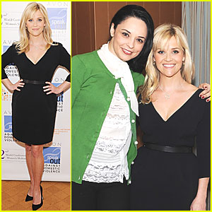 Reese Witherspoon Presents Avon Communications Awards