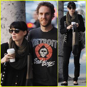 Rooney Mara & Charles McDowell: Starbucks Stop