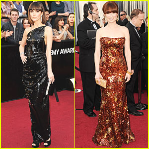 Rose Byrne & Ellie Kemper - Oscars 2012 Red Carpet