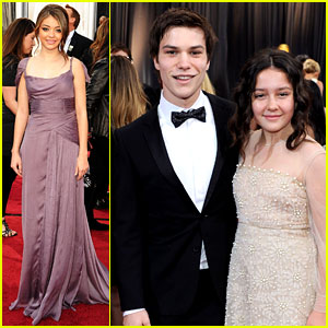 Sarah Hyland & Nick Krause - Oscars 2012 Red Carpet