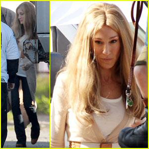 Sarah Jessica Parker as Gloria Steinem - First Look!