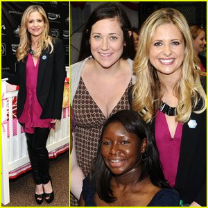 Sarah Michelle Gellar: Operation Shower With Military Moms!