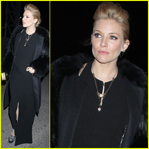 Sienna Miller: 'W' Baby Bump Arrival!