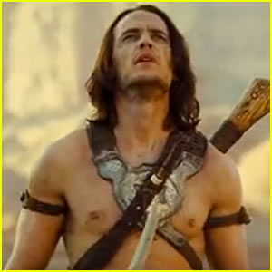 Taylor Kitsch: 'John Carter' & 'Battleship' Super Bowl Trailers!