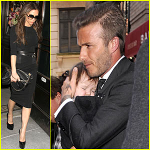 Victoria, David & Harper Beckham: Fashion