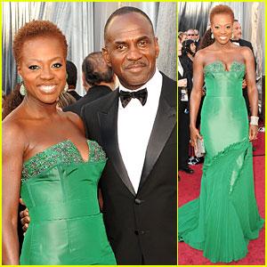 Viola Davis - Oscars 2012 Red Carpet