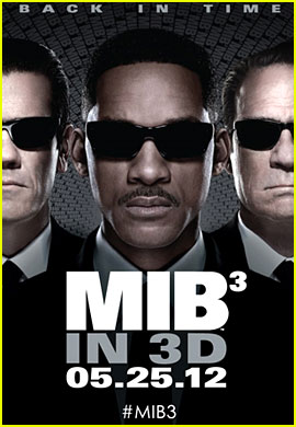 Will Smith: New 'Men in Black 3' Poster!