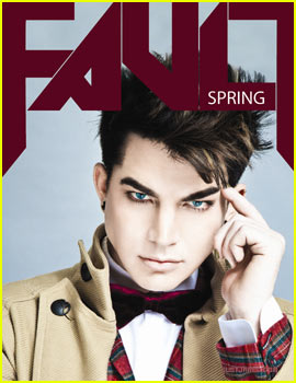 Adam Lambert Covers 'Fault Magazine' Spring 2012
