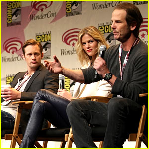 Alexander Skarsgard & Brooklyn Decker: WonderCon Panel!