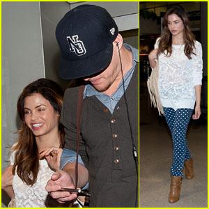 Channing Tatum & Jenna Dewan: Back from NYC