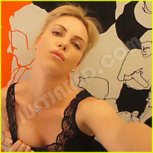 Charlize Theron's Leaked Cell Phone Pictures Revealed - Exclusive