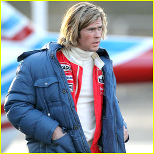 Chris Hemsworth as Racing Legend James Hunt - First Look!