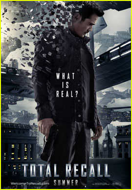 Colin Farrell: 'Total Recall' Sneak Peek &#038; Poster!