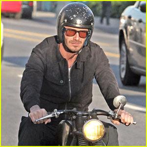 David Beckham: Interested In Designing Fashion Line?