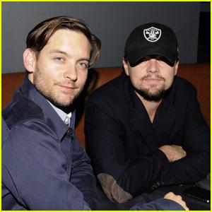Leonardo DiCaprio & Tobey Maguire: Mobli 2.0 Launch