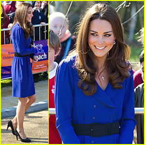 Duchess Kate Visits Children's Hospice