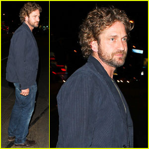 Gerard Butler: Night Out at Chateau Marmont