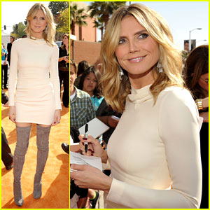 Heidi Klum - Kids' Choice Awards 2012