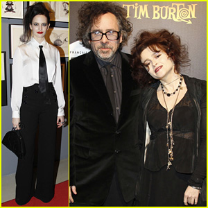 Helena Bonham Carter: Tim Burton Exhibition with Eva Green!