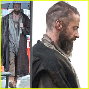 Hugh Jackman: Les Miserables Set Pictures!