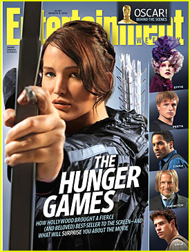 'Hunger Games' Stars Cover 'Entertainment Weekly'