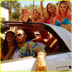 James Franco Channels Kevin Federline in 'Spring Breakers'?