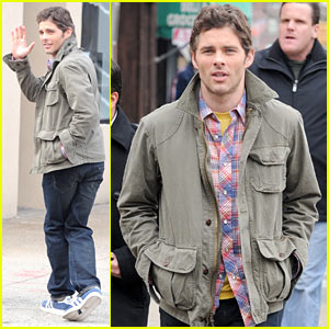 James Marsden: '30 Rock' Set!