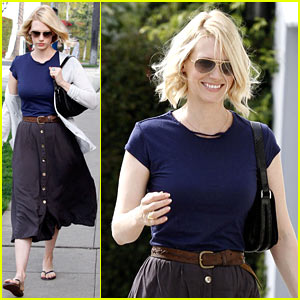 January Jones: 'Mad Men' Makeup Coming This Week!