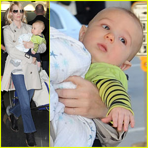 January Jones: I Adore Motherhood!