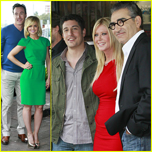 Jason Biggs & Tara Reid: 'American Reunion' Ph