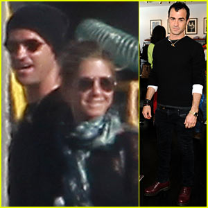 Jennifer Aniston & Justin Theroux: Back In LA!